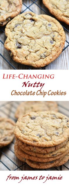 Lifechanging Nutty Chocolate Chip Cookies