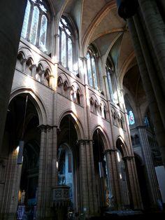 Basilique Notre Dame de la Fourvière, Lyon - France
