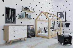 Детская ручной работы. Ярмарка Мастеров - ручная работа. Купить Кровать-домик напольная, с горизонтальными бортами, FLOORI Smarty. Handmade.