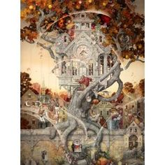 Merriam Tailspin  wooden jigsaw puzzle by Artifact Puzzles....awesome!