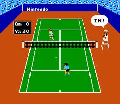 A NEC game of Tennis, 1984