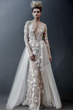 e88e173de928 Naeem Khan Bridal Spring 2019 Fashion Show. Sexy Wedding DressesBoho ...