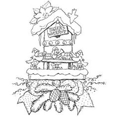 Workshop - Small Wood Mounted Stamp by Karen Foster
