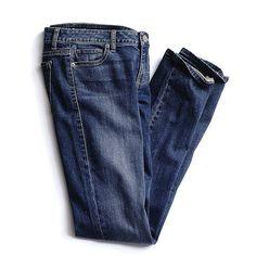 Victoria's Secret VS Pencil Low-rise Straight Jean ($60) via Polyvore