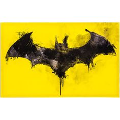 Wall Art - Mirrors & Wall Decor - Home Decor & Frames Superman Logo, Canvas Wall Decor, Diy Canvas Art, Batman Painting, Batman Wall Art, Batman Artwork, Dc Comics, Batman Comics, Hobby Lobby Wall Art