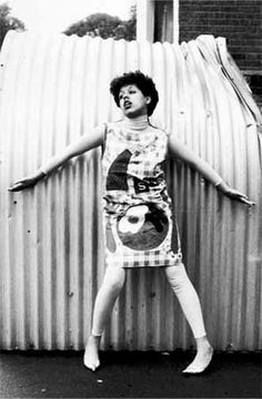 Poly Styrene was barely twenty-one when her band, X Ray Spex, released their only album, Germfree Adolescents