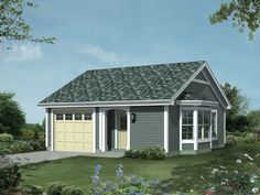garage with apartment plan ..   http://justgarageplans.com/3520/plan-detail/10-156.php