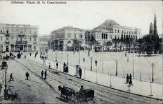 Αθηνα 1900 Old Photos, Vintage Photos, Athens Greece, Greeks, Old City, Olympia, The Past, Street View, Journey
