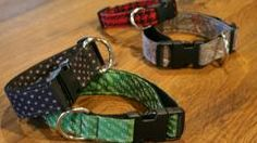Dog Collars from Old Neckties