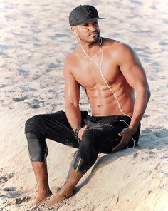 The one and only Ricky Whittle, Whittling, Superhero, Swimwear, Fashion, One Piece Swimsuits, Moda, Wood Carving, La Mode