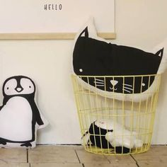 Kissen «Cat» von A Little Lovely Company | weloveyoulove