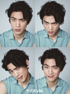 Sung Joon for InStyle, April 2014 (cr: M&B magazine)