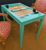 oomph Backgammon Table in Synergy