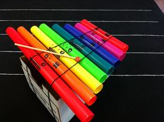 I might actually use the boomwhackers I have in this format... Musical Magic: Make a Bop-o-phone for Boomwhackers