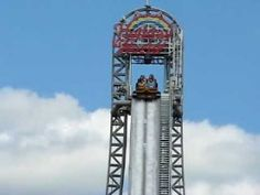 World's Tallest Water Ride - Pilgrims Plunge at Holiday World