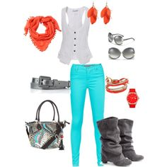 """""""Colorful Grey"""" by shopahaulica on Polyvore"""