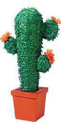 This fabulous cactus piñata is a great addition to any party decor! Buy a cactus pinata for childhood fun at your party!