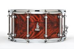 "14 x 8 BRADY Jarrah Ply snare drum (Limited Edition ""Walkabout Series"" Karijini gloss finish)."