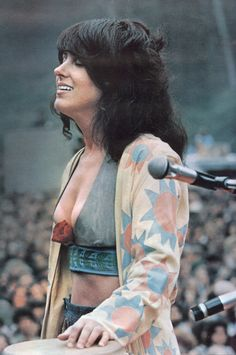 Grace Slick. There isn't enough black eyeliner in the world to make me as beautifully badass as Grace Slick.