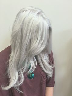 Silver hair white hair gray hair old lady hair color