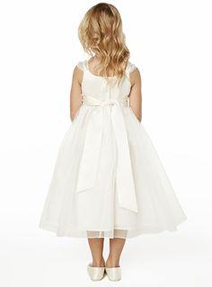 Isla Ivory Bridesmaid Dress - young bridesmaids - Wedding - BHS