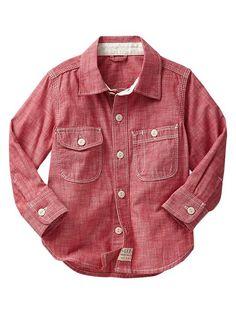 Chambray shirt Product Image