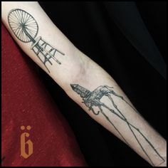 BRÜCIUS #TATTOO @blkserum + bruciustattoo.com  + #Blackwork #Tattooing  #SanFrancisco #blkserum #etching  #onlyblackart #engraving #nature #tattoo #tree #casette #graphic #graphic #tattoo #greatguy #baby #bird #nest #astronaut  #tribute #art #MarcoMizzoni  #GeremyGeddes #Dali #Duchamp #healed2012tattoo