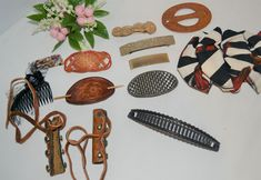 Vintage Trends, Hair Barrettes, Vintage Hairstyles, Westerns, Pony, Plastic, Fresh, Formal, Metal
