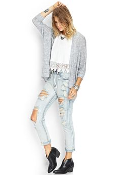 Heathered Dolman Cardigan | FOREVER21 #Cardigan #MustHave #OOTD