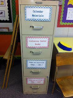 The Autism Adventures of Room Organizing Materials Classroom Setup, Preschool Classroom, I Heart Organizing, Organization Ideas, Organizing Tips, Locker Organization, Household Organization, Absent Work, Beginning Of School