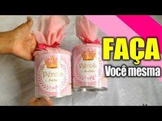 ★Como Fazer Lembrancinha com Lata ♥ Parte 2 - DIY, artes, presentes, art...