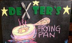 Dexter's Frying Pan board