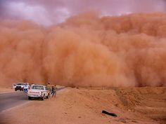 dust storm - been there - Phoenix, AZ
