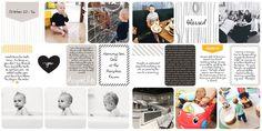 Project Life Digital Scrapbook  Midnight Edition - KatieHowardBlog.com