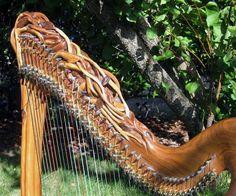 Rivendale Harp - by Mountain Glen Harps