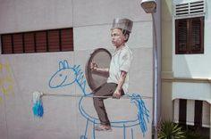 Ernest Zacharevic Artwork Singapore Oct 2013 (9)
