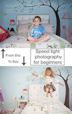 Speed light photography for beginners via Click it Up a Notch
