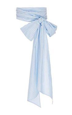 Meghan stripe everything scarf by MDS STRIPES for Preorder on Moda Operandi