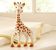 Sophie the Giraffe... Every baby I've ever taken care of LOVES this!