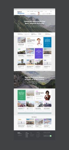 Baikal UI Kit: #Web Samples