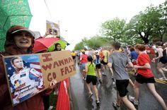 Funny Running Race Signs | Runner's World dear 8 lb 6 oz baby jesus