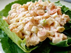 recipe: shrimp salad melt [18]