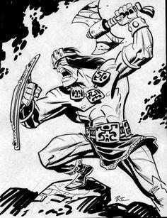 Bruce Timm // Kull the Conqueror Bruce Timm, Comic Book Artists, Comic Artist, Comic Books Art, Character Art, Character Design, Batman The Animated Series, Conan The Barbarian, Marvel Comic Universe