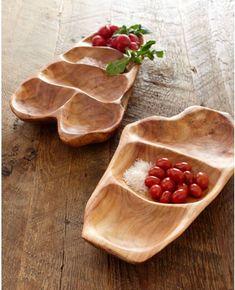 деревянные тарелки для подачи - Поиск в Google