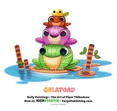 Daily+1366.+Gelatoad+by+Cryptid-Creations.deviantart.com+on+@DeviantArt