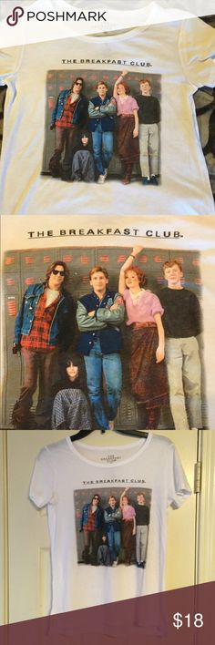 The Breakfast club t-shirt Size Small. I do give discounts of bundles of 2, New no tags, from non smoking home Tops Tees - Short Sleeve