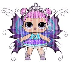 7th Birthday Party Ideas, Girl Birthday, Princess Palace Pets, Cartoon Unicorn, Flower Pot Crafts, Bottle Cap Images, Lol Dolls, Cute Images, Diy Doll