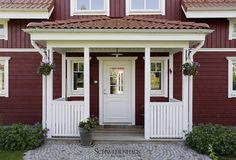 Schwedenhaus in Falunrot