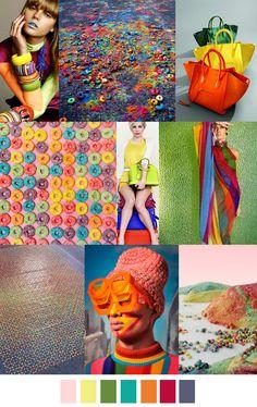 FRUIT LOOPS, fashion mood board / trend / color