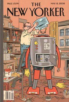 As capas da New Yorker feitas por Daniel Clowes | IdeaFixa | ilustração, design, fotografia, artes visuais, inspiração, expressão